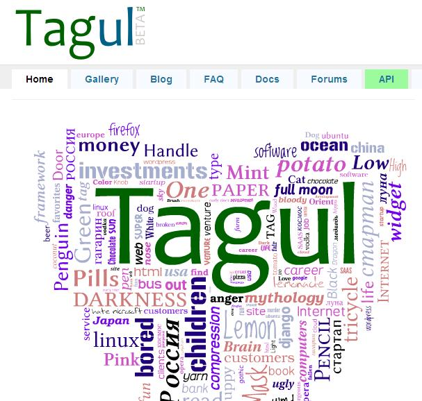 Tagul Word Cloud